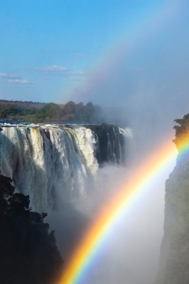 Double Rainbow over Victoria Falls